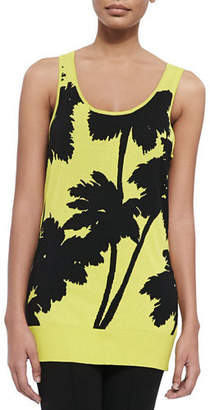 Berek Miami-Print Long Tank
