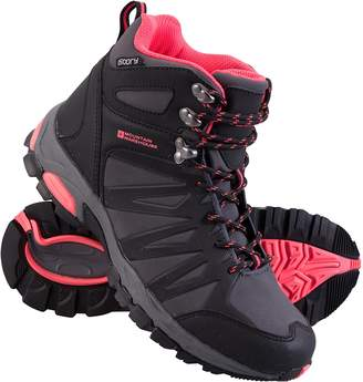 Warehouse Mountain Trail Womens Softshell Boots - Waterproof Shoes