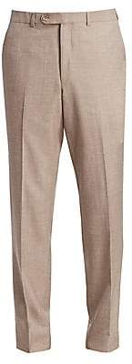 Saks Fifth Avenue Flat-Front Trousers