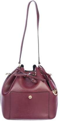 Michael Kors Greenwich Small Saffiano Leather Bucket Bag