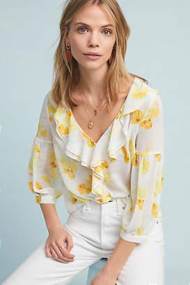 Maeve Daffodil Ruffled Blouse