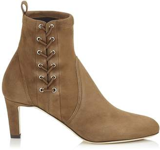 Jimmy Choo Mallory 65 Suede Boots