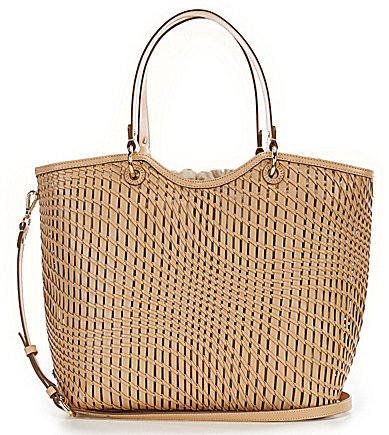 Cole Haan  Cole Haan Genevieve Woven Large Tote