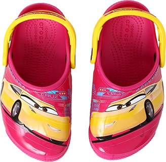 Crocs Kids' Crocsfunlab Lights Cars 3 Clog