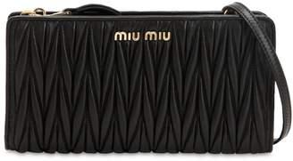 Miu Miu Quilted Leather Crossbody Bag