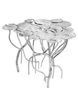 Michael Aram 14-Leaf Lily Pad Coffee Table
