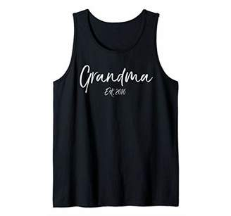6c27fbe9 Women's Mother's Day Gift for Grandmothers Grandma Est. 2016 ...