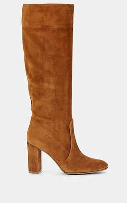 Gianvito Rossi Women's Suede Knee Boots - Med. brown