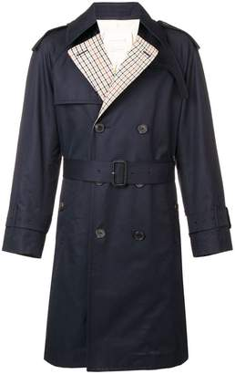 MACKINTOSH Ink Colour Block Oversized Trench Coat GM-105BS/SH/CB