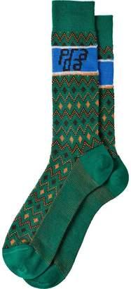Prada Jacquard wool socks