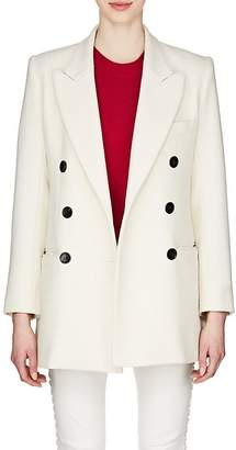 Isabel Marant Women's Kyne Cotton-Blend Double-Breasted Coat