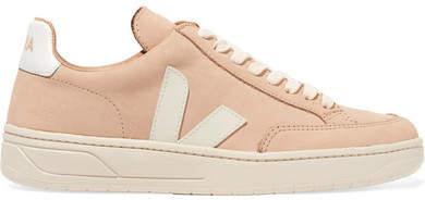 Veja - V-12 Bastille Nubuck Sneakers - Beige