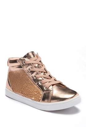 Report Simona Metallic High Top Sneaker (Little Kid & Big Kid)