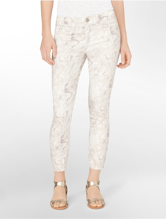 Calvin Klein Powerstretch Snake Print Jeggings