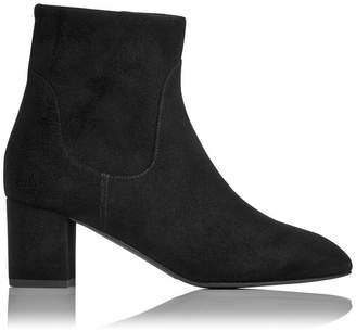 LK Bennett Simi Black Suede Ankle Boots