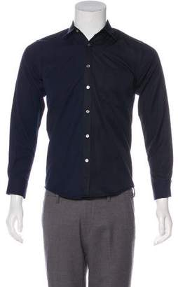 Timo Weiland Colorblock Button-Up Shirt w/ Tags