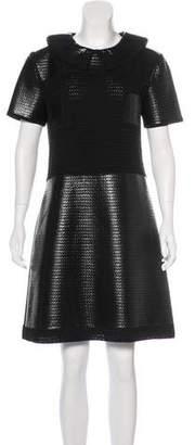Prada Coated Wool Dress