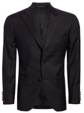 Saks Fifth Avenue COLLECTION Subtle Shimmer Blazer Jacket