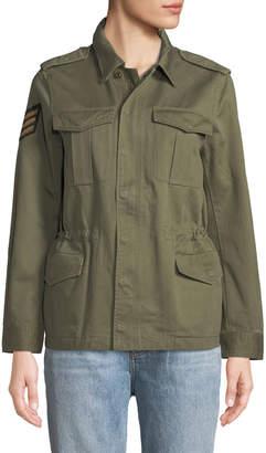 Zadig & Voltaire Kayak Military Patchwork Jacket