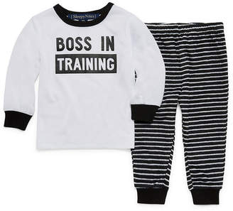 HOLIDAY #FAMJAMS Sleepy Nites Boss 2 Piece Pajama Set -Baby Unisex