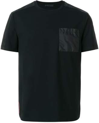 Prada nylon path T-shirt