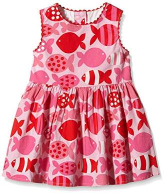 at Amazon.co.uk · Camilla And Marc Toby Tiger Girl s Fish Summer Party Dress  (Pink White) 439063d7bbc3