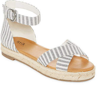3a3b06320fc66 A.N.A Womens Broome Adjustable Strap Flat Sandals