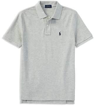 Ralph Lauren Boys' Solid Mesh Polo Shirt - Little Kid