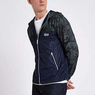 River Island Jack and Jones Originals green camo jacket