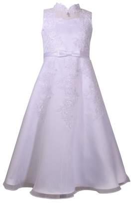 Iris & Ivy Sequin First Communion Dress