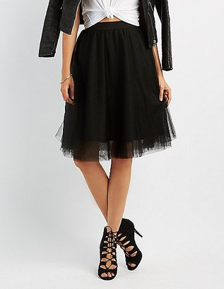 Tulle Full Midi Skirt $26.99 thestylecure.com