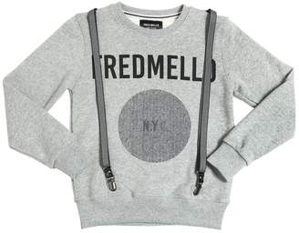 Fred Mello Cotton Sweatshirt W/ Suspenders