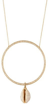 Hirsch Aron & Omo Diamond & 18kt Gold Necklace - Womens - Diamond