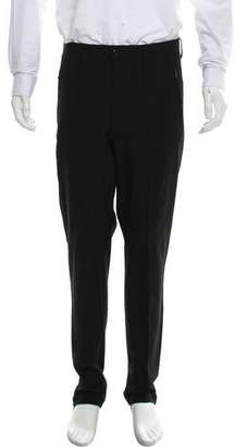 Issey Miyake Flat-Front Elastic Cuff Pants