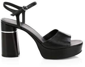 3.1 Phillip Lim Ziggy Leather Platform Sandals
