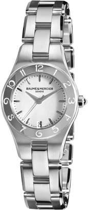 Baume & Mercier Baume Mercier Women's Linea Dial Stainless Steel Watch A10009