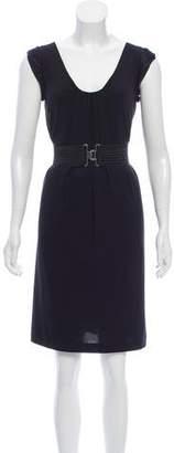 Philosophy di Alberta Ferretti Belted Knee-Length Dress