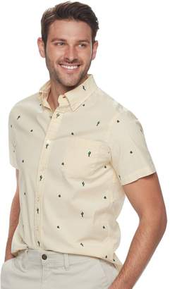 Sonoma Goods For Life Men's SONOMA Goods for Life??? Slim-Fit Poplin Button-Down Shirt