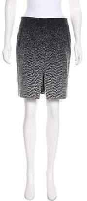 Rag & Bone Patterned Pencil Skirt