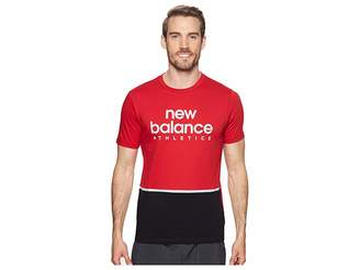 New Balance NB Athletic Liner Tee Men's T Shirt