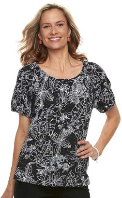 3dbce635ac8a2d Women s Cathy Daniels Embellished Floral Top