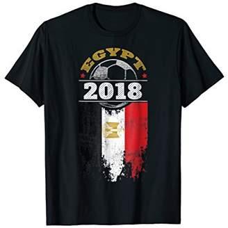 Egypt 2018 Soccer T-Shirt Egyptian Flag Shirt Fan Gift