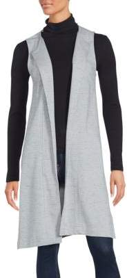 Open Front Sleeveless Vest $89 thestylecure.com
