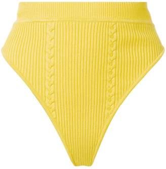 Versace high waisted shorts