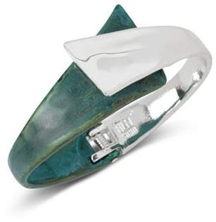 Robert Lee Morris Soho Bypass Hinge Cuff Bracelet