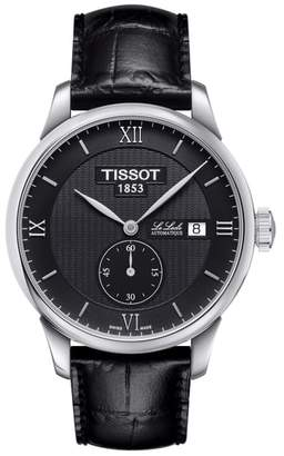 Tissot Le Locle Automatic Leather Strap Watch, 39mm
