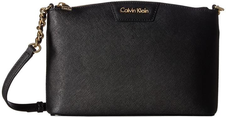 Calvin KleinCalvin Klein Key Items Saffiano Crossbody