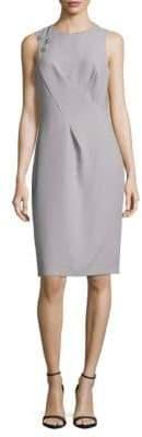 Sleeveless Sheath Dress
