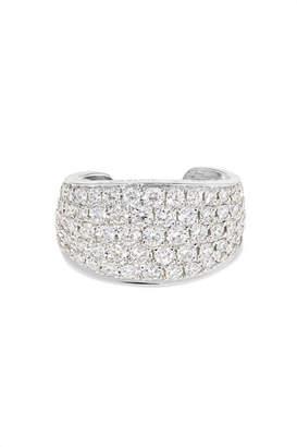 Galaxy 18-karat White Gold Diamond Ear Cuff - one size Anita Ko AwmeFDBP5