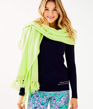 Lilly Pulitzer Take Me Away Cashmere Wrap